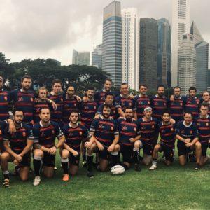 My expat soutient le club de rugby des XV Gaulois de Singapour