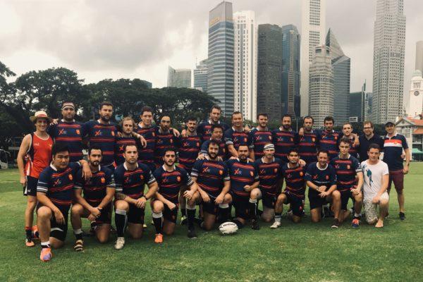 club de rugby les XV gaulois de singapour