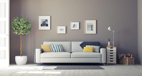 intérieur meublé